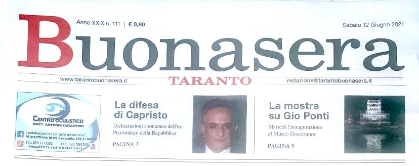 Poesia pubblicata su Taranto Buonasera